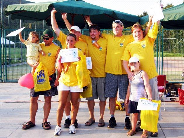 Z vítězství v souboji březovských ulic se nakonec radovali členové Jany teamu.