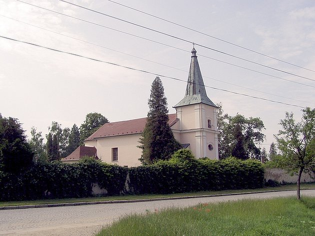 Kostel v Mařaticích.