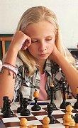 Marie Vaňková z Šachového klubu Kunovice vybojovala na MČR bronz v kategorii dívek do 12 let.