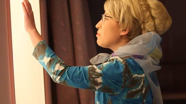 Jitka Josková v inscenaci Nora.