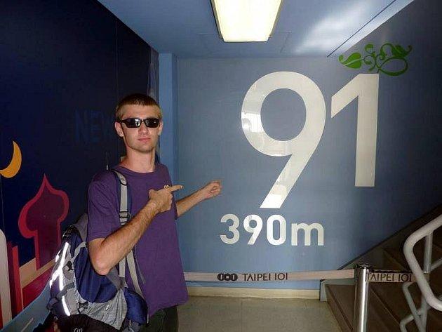 Student z Uherského Hradiště řešil zeměpisnou olympiádu na Tchj-wanu.