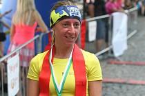 Třiatřicetiletá vytrvalkyně z Břestku Miroslava Murray, která je vdaná za Skota, byla nejlepší mezi ženami v běhu na pět kilometrů.v Uherském Hradišti
