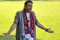 Známý trenér Martin Onda v pátek ve Vyškově vedl fotbalisty Uherského Brodu naposledy.