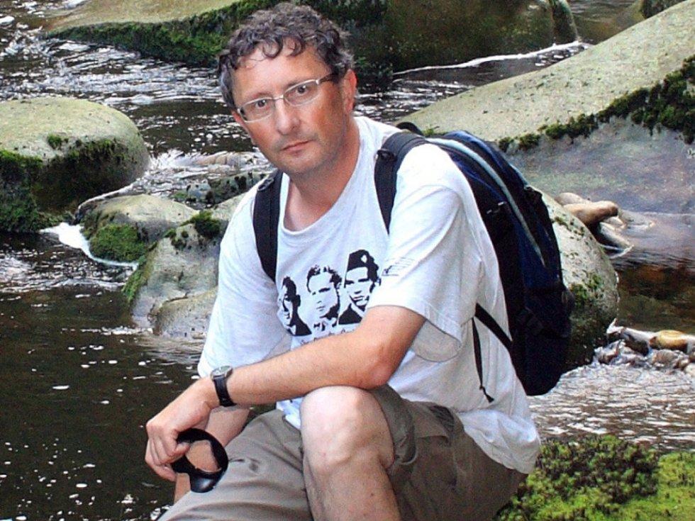 Fotograf a autor knih Bořek Žižlavský.