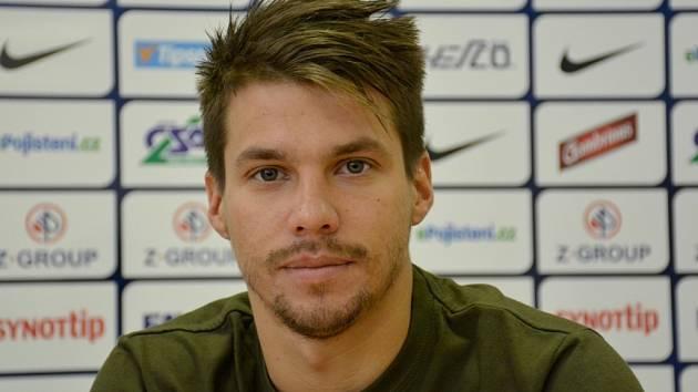 Záložník 1.FC Slovácko. Jan Navrátil