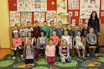 1. třída paní učitelky Michaely Vystrčilové Základní škola Josefa Bublíka Bánov