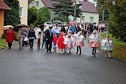 Krojované hody s právem ve Vážanech.