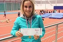 Atletka Slovácké Slavia Uherské Hradiště Kateřina Resslerová.
