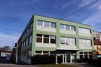 Nové sídlo celního úřadu v Uherském Hradišti v ulici Na Morávce.