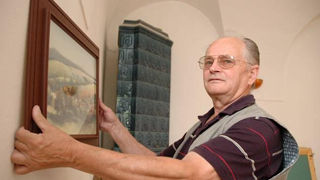 Výtvarník Stanislav Knotek.