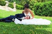 Soutěžní svatební pár číslo 121 - Pavla a Jakub Adámkovi, Střeň