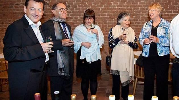 Návštěva izraelského velvyslance na zámku Ořechov