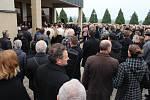 Pohřeb výjimečné hudebnice Jitky Šuranské na hřbitově v Babicích - 2. listopadu 2019