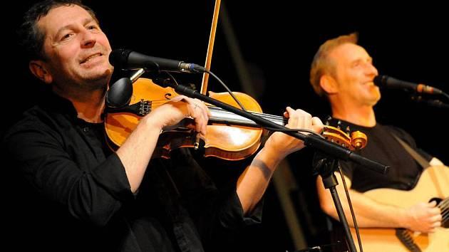 Čechomor odehrál v Hradišti benefiční koncert.