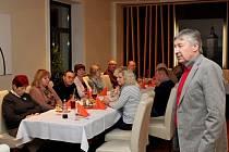 V hradišťské restauraci NET si dali v sobotu dostaveníčko lidé dialyzovaní a po transplantaci ledvin.