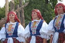 V Kudlovicích si obdiv a potlesk obecenstva vysloužili nejen zpěváci a cimbálové muziky, ale i verbíři z různých koutů Slovácka.