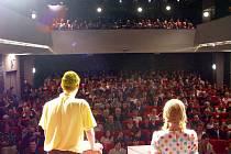 Hlediště Slováckého divadla. Ilustrační foto.
