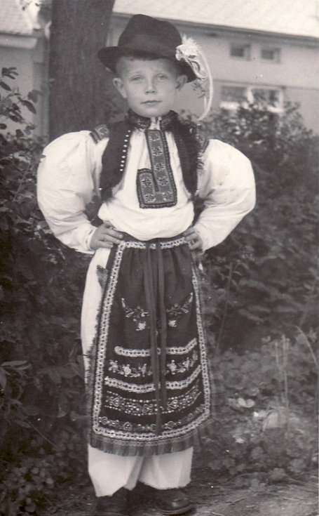 Jenda Míša, Polešovice 1944.