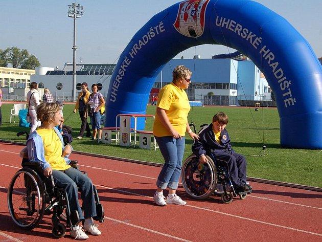 Krajské kolo olympiády speciálních škol v Uherském Hradišti.