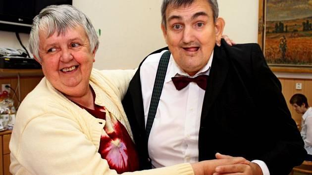 Ples v Domově pro osoby se zdravotním postižením Velehrad-Vincentinum