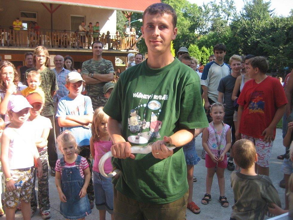 Adam Preclík, Nedakonice, úhor 76 cm, vítěz v kategorii úhoř.