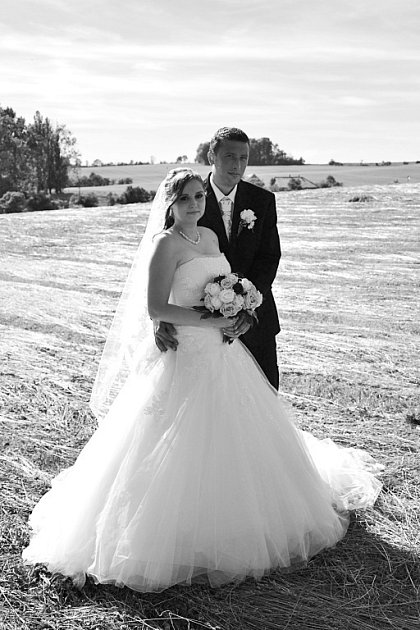 Soutěžní svatební pár číslo 122 - Veronika a Jiří Valentovi, Opatovice.
