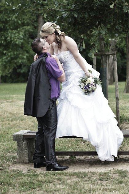 Soutěžní svatební pár číslo 148 - Jana a Martin Jelčovi, Hlubočky