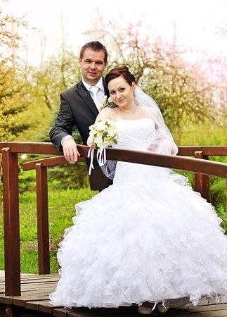 Soutěžní svatební pár číslo 42 - Michaela a Roman Ťuhýčkovi, Zlechov