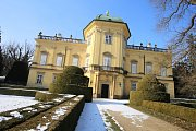 Oprava a rekonstrukce kanalizace na zámku v Buchlovicích.