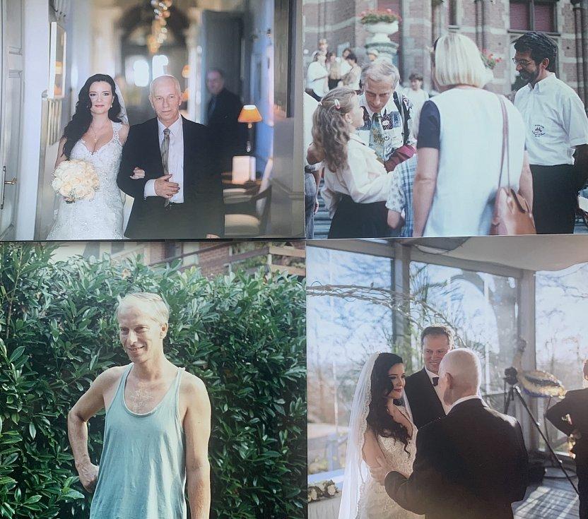 Aneta Savarová na snímcích z rodinného alba se svým tatínkem i bez něj.