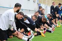 Fotbalisté 1. FC Slovácko zahájili v pátek 19. června letní přípravu. První trénink absolvovali na staroměstském Širůchu.