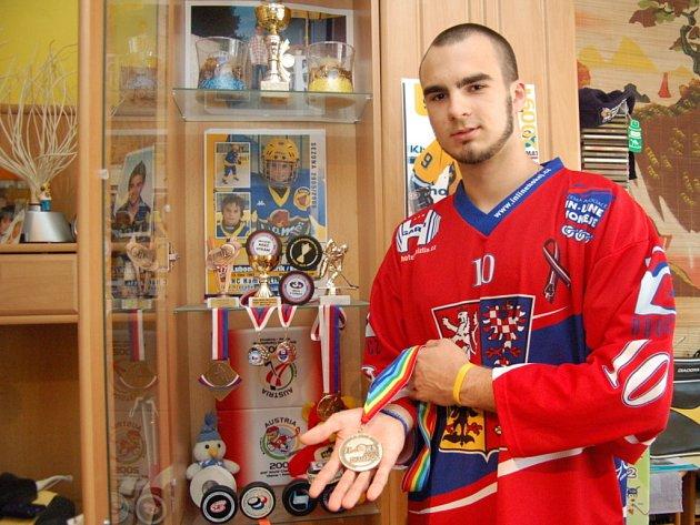 Lubomír Kovařík si z Kolumbie přivezl zlatou medaili.