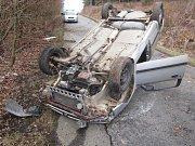 Na místě nehody nikdo nebyl.