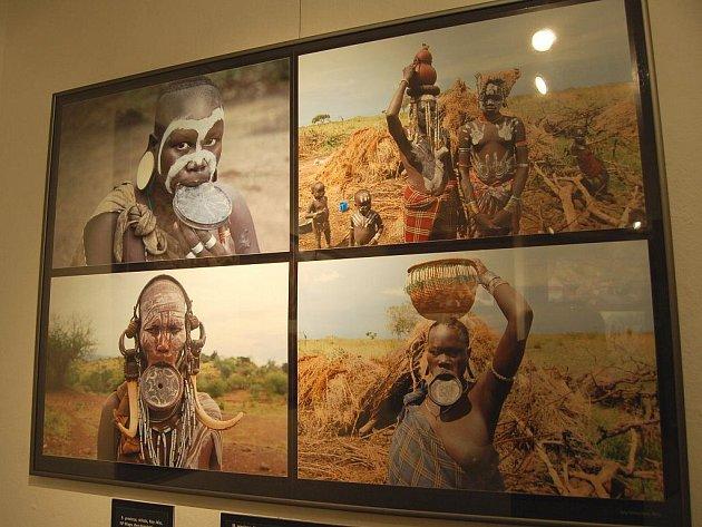 Výstava fotogarafií, které pořídil při své cestě po Etiopii ředitel Muzea JAK Pavel Popelka.