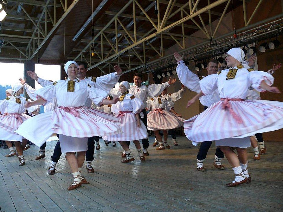 Populární folklorní soubor z Uherského Brodu.