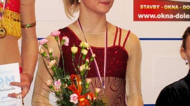 Tereza Světlíková obsadila na Orlovské piruetě 3. místo, ve volné jízdě si navíc vytvořila osobní maximum.