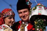 Soutěžní pár č. 11: Andrea Malinová a Luboš Uherek, Jarošov, stárci na hodech 20.-21. října.