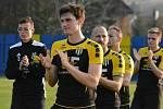 Fotbalisté Strání v posledním domácím zápase letošní sezony podlehli postupujícímu Blansku 1:2.