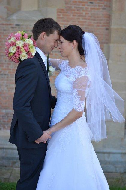 Soutěžní svatební pár číslo 167 - Ludmila a Vít Gabrielovi, Vlčnov