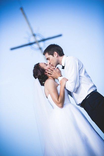 Soutěžní svatební pár číslo 178 - Barbora a Michal Adamcovi, Strážnice.