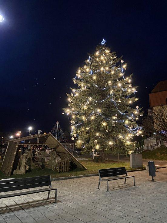 Vánoční strom 2020 v Bojkovicích