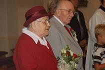 Manželé František Marie Daňkovi z Dolního Němčí