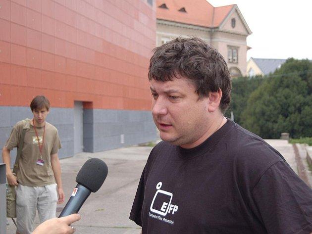 Zlínský rodák na hradišťském festivalu uvedl mimo jiné také snímek Sráči.