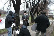 Nový televizní seriál se začal natáčet v Uherském Hradišti.