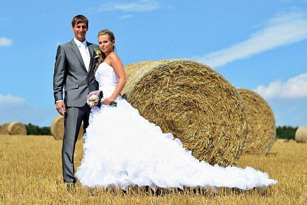 Soutěžní svatební pár číslo 111 - Marek a Martina Krátcí, Litovel.