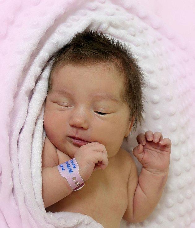 Markéta Bittnerová, Medlovice, narozena 15. července 2021 v Uherském Hradišti, míra 50 cm, váha 3950 g