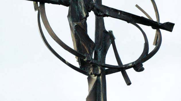 Kříž ve Starých horách.