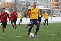 Peter Sládek. Ilustrační foto ze zápasu 1. FC Slovácko - Třinec.
