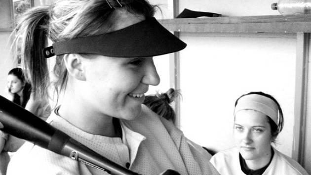 Na pálku se pod dohledem Petry Juráskové chystá Markéta Němcová.