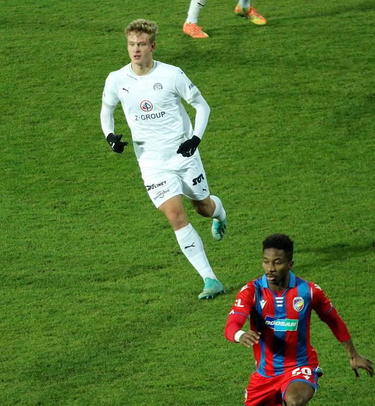 Mladý obránce Jaromír Srubek má na svém kontě tři ligové zápasy.